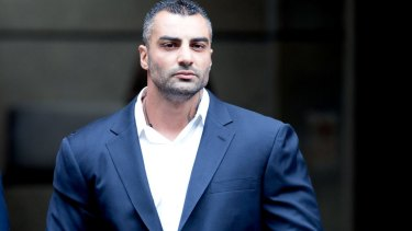 Mick Hawi was shot several times as he sat in his car.