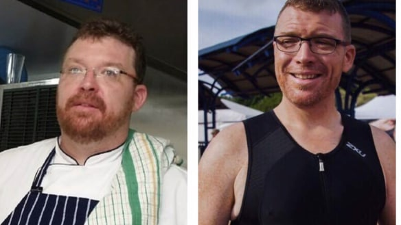 This Brisbane man lost 58 kilograms after buying a bike off Gumtree