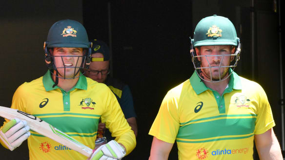 'Mindset shift': Finch seeing positives ahead of World Cup defence