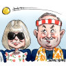 Big serves keep many pollies out of tennis set