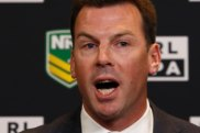 Going hard: RLPA chief Ian Prendergast is against standing down players charged with serious crimes.