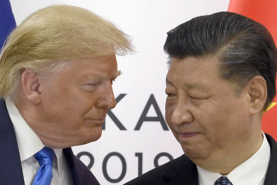 Businesses are worried they will have to pick a side between US President Donald Trump and Chinese President Xi Jinping.