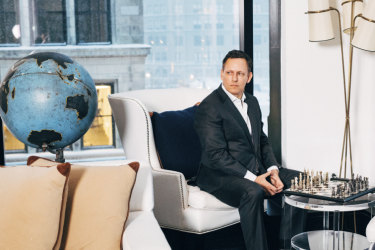 Peter Thiel - keen to live and live.