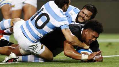 All Blacks smash Pumas to leave Wallabies with a ton of work to do