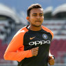 Indian Test batsman Shaw banned for doping