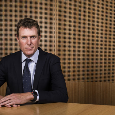 Attorney-General Christian Porter is a rising star in Canberra.