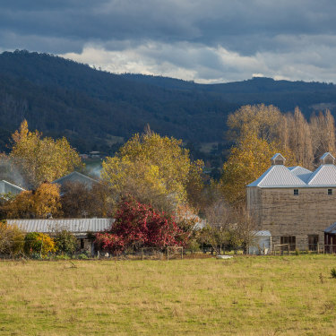 Take in the autumn colours of the Huon Valley.