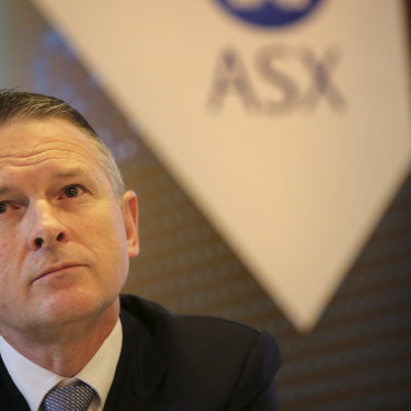 ASX chief executive Dominic Stevens has apologised to the exchange's customers.