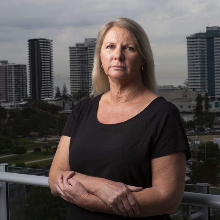 Deb Naughtin was financially ruined over a debt owed to Bendigo Bank.