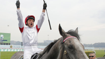 'How far did he win by?': Classique Legend wins The Everest for veteran trainer