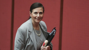 NSW Liberal senator Concetta Fierravanti-Wells is pushing for Parliament to pass a Religious Freedom Act.