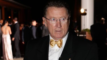 Former Parramatta player and chief executive Denis Fitzgerald.