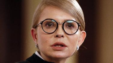 Former Ukrainian Prime Minister Yulia Tymoshenko has accused President Petro Poroshenko of corruption.
