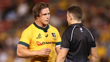 Michael Hooper and the Wallabies could not get past Argentina two weeks ago.