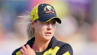 Ellyse Perry has been named in Australia's squad but is in doubt for the games against New Zealand due to injury.