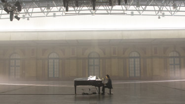 Nick Cave felt like he was rediscovering his own songs for the solo concert Idiot Prayer: Nick Cave Alone at Alexandra Palace.