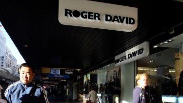 Roger David will close this Sunday.