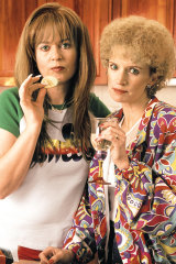 Gina Riley and Jane Turner as their alter egos Kath and Kim.
