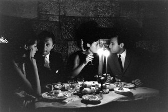Dining in Beirut, 1961.