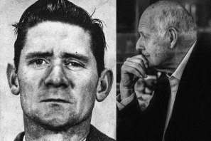 Ronald Ryan (left) was the last person to be executed in Australia. Bryan Harding (right) was invited to attend the hanging at Pentridge Prison but declined.