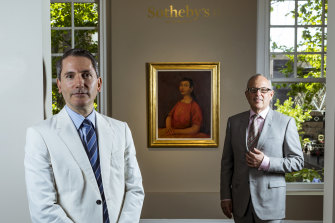 Geoffrey Smith (left)  and Gary Singer have ditched the Sotheby's name.