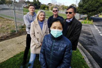 Jennifer Gong, Diane Hagqvist, Graeme Parncutt, William Rennie and David Rennie are disappointed at the proposal and lack of consultation for the Bills Street, Hawthorn, project.