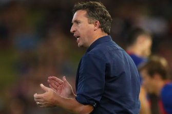 Coach Robbie Fowler overcame a slow start to get the Brisbane Roar firing in the A-League before the shutdown.