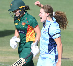 NSW all-rounder Hannah Darlington is a young star going places.