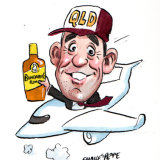 Lex Greensill flew into Australia on his private jet this week. Illustration: John Shakespeare