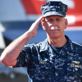 Former US Pacific Fleet commander, Admiral Scott Swift.
