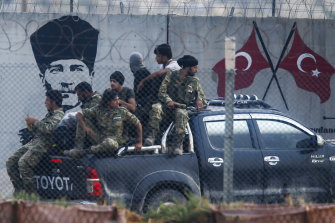 Fighting continued in north-west Syria despite an agreement between Turkey and the US.