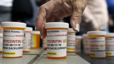 The family that runs Perdue Pharma, maker of OxyContin, has been accused of siphoning off money to hidden trusts as the company faces bankruptcy.
