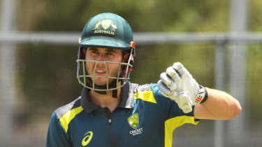 Gun of a son: Kurtis Patterson comes from good cricketing stock.