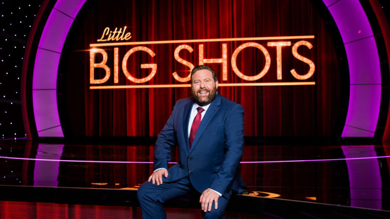 Shane Jacobson is currently hosting  Seven's Little Big Shots.