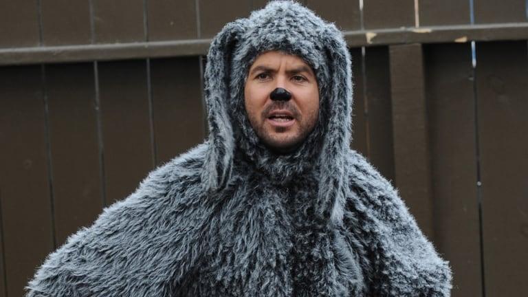 Australian actor Jason Gann starred in SBS Comedy's Wilfred.