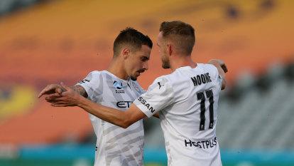 Maclaren hat-trick spearheads City's 4-2 win over Mariners