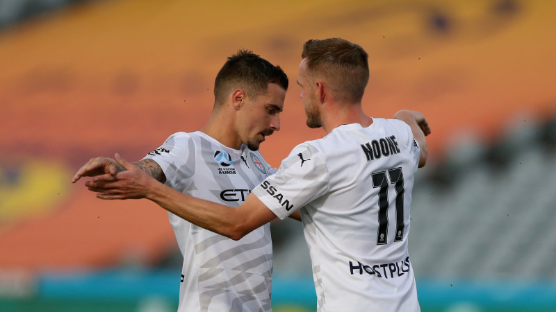 Maclaren hat-trick spearheads City's 4-2 win over Mariners