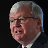 Kevin Rudd, super funds lash 'out of touch' Coalition MPs over call to freeze rate