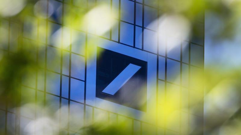 Blank Screens At Deutsche In New York