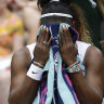 Serena Williams and the rest of tennis' galaxy of stars may not be seen on court again this year.