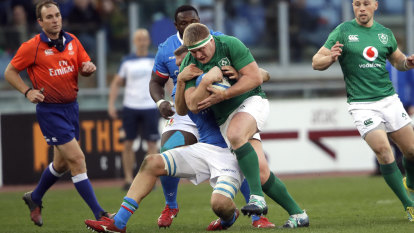 Schmidt relieved as off-colour Ireland stay in Six Nations race