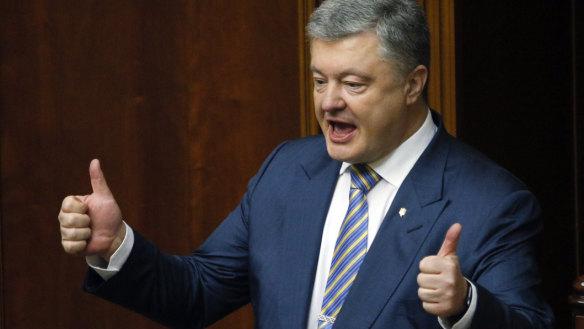 Ukrainian president vows to push for EU, NATO membership