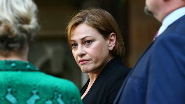 Jackie Trad: 'Having a career and raising a family is a very busy life.'