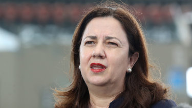 Queensland Premier Annastacia Palaszczuk pointed to key areas of progress.