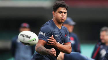 Scott is relishing the chance to make amends against the Roosters' world-class centre Latrell Mitchell.