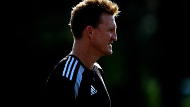 Nathan Buckley in 2012