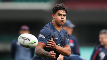 Latrell Mitchell appears to have burnt his bridges at the Roosters.