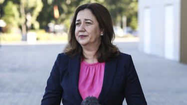 """Premier Annastacia Palaszczuk says she """"just can't wait"""" for other states to get on board and will go it alone."""