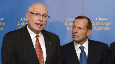 Jim Molan and Tony Abbott hail from the same conservative wing of the Liberal Party.