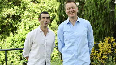 Picaluna operations director Chris Hancock and managing director Greg Inglis.